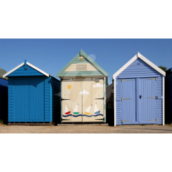 Steamer Point Beach Huts Colour