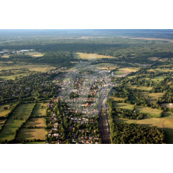 Brockenhurst Aerial View