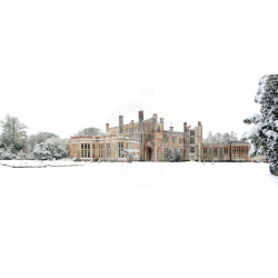 Highcliffe Castle in the Snow