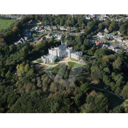 Highcliffe Castle, Aerial View