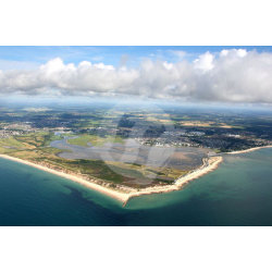 Christchurch Harbour, Aerial View